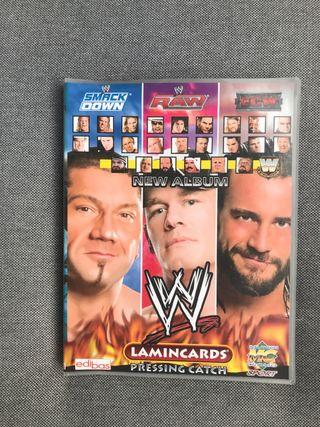 Album de cromos WWE