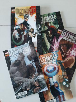 Colección Cómics Ultimate Marvel