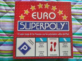 Juego de mesa Euro Súperpoly
