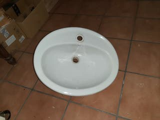 Pica lavabo Roca redonda para insertar
