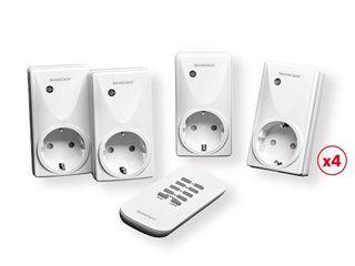 Set de enchufes con mando a distancia