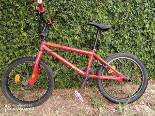 Bicicleta De BMX Wipe 320 roja