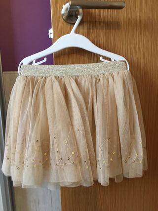 Conjunto falda tul y camiseta