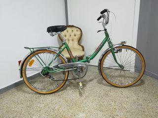 Bicicleta clásica de Paseo Plegable Mercier. Años