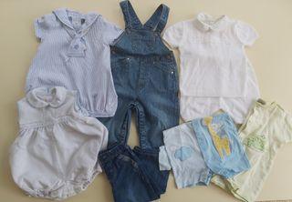 Lote ropa bebé 6 meses