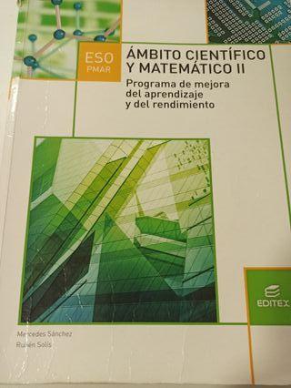Libro Ámbito Científico y Matemático - 3° PMAR