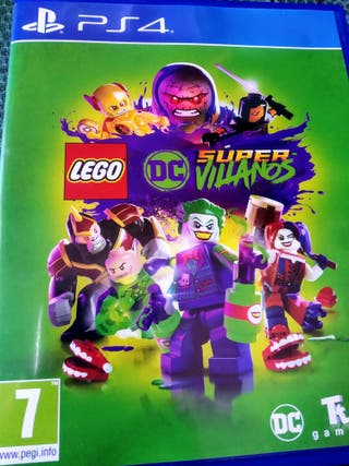 Videojuego Lego Super-villanos Ps4 Play