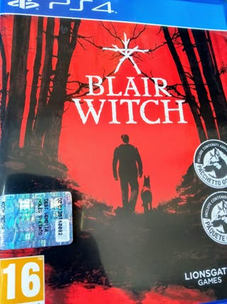 Videojuego The Blair Witch Ps4 PlayStation Play