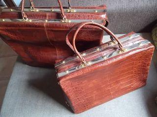 lote bol Perdix maleta y bolso