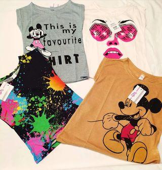 Camisetas Disney Niña a por mayor