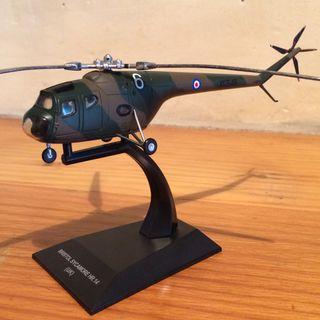 Maqueta helicóptero Bristol Sycamore 1/72