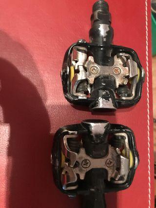 Juego pedales automáticos