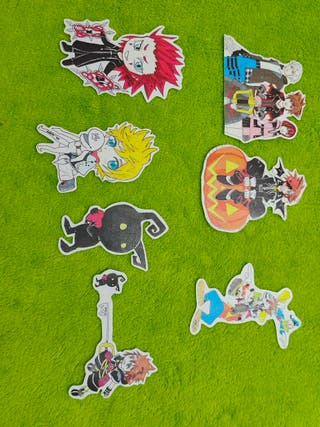 Pack pegatinas Kingdom Hearts