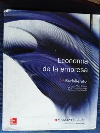 Libro de Economía 2° de bachillerato