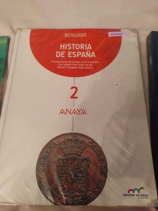 Historia de España 2° de bachillerato