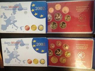 monedas proof Alemania 2002