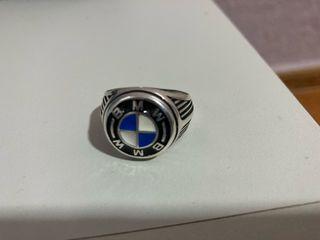 Anillo BMW plata esterlina