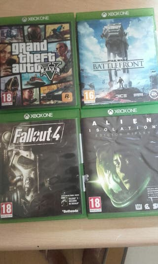 Lote juegos Xbox One