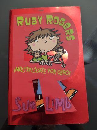"""Libro """"Ruby Rogers multiplicate por cero"""