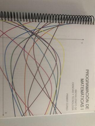 Programación de Matemáticas I