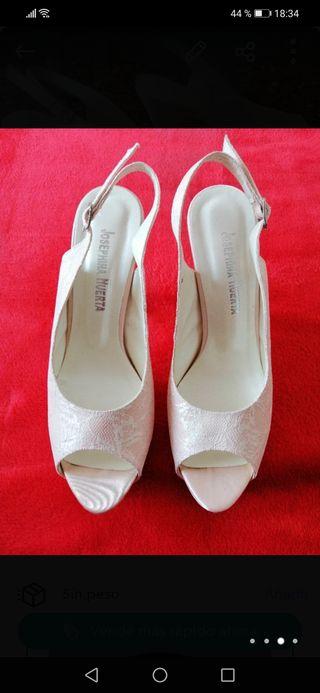 Zapatos novia Josefina Huertas