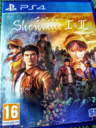 Videojuego Shenmue 1 y 2 Ps4 PlayStation Play