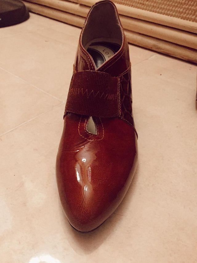 Bolso y zapatos charol COMO NUEVOS !!