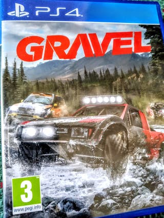 Videojuego conducción Gravel Ps4 PlayStation Play