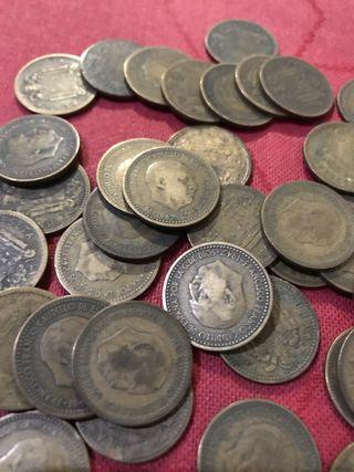 Monedas de 1 peseta 1947