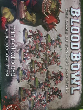 Warhammer BloodBowl the gouded eye