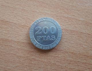 Moneda 200 pesetas 1998
