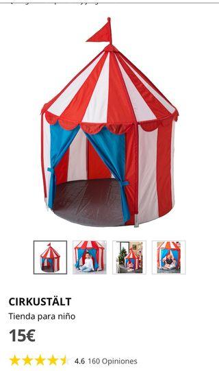 Tienda circo de Ikea