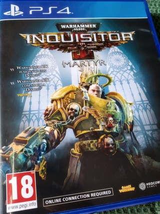 Videojuego Warhammer Inquisitor Martyr Ps4 Play
