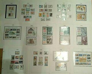 Colección sellos. 1985-1993. COMPLETA.