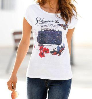 Camiseta Blanca Talla M