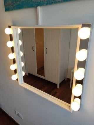 Kit tocador (espejo + luces)