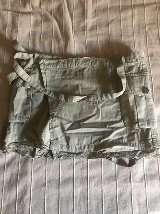 Minifalda capa