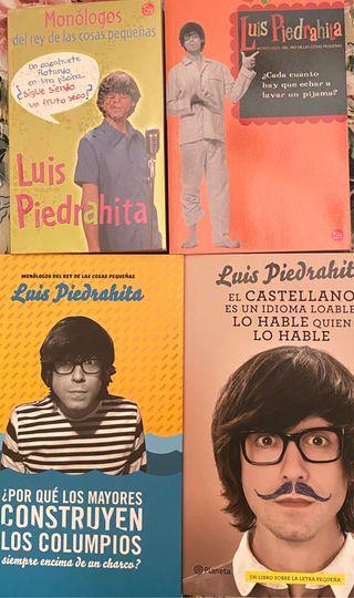 4 Libros de Luis Piedrahita. Como Nuevos.