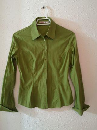 Camisa mujer verde
