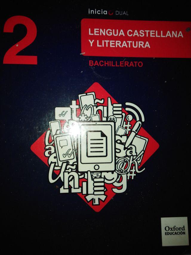 Libro de Lengua y literatura de 2 ° de bachillerat