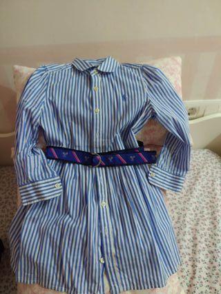 Vestido Ralph Lauren niña Talla: 6 años
