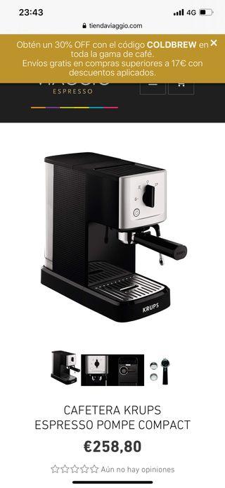 Cafetera Krups Espresso Pompe