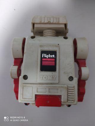 robot antiguo años 80 flipbot