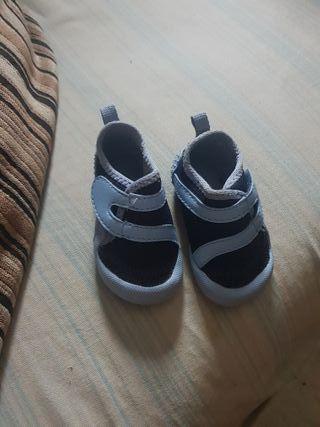 zapatos para playa
