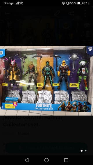 lote 4 cajas yv2 blisters fortnite