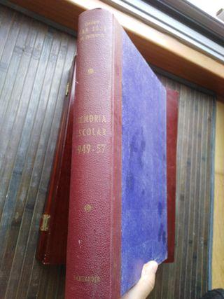 Memorias Escolares 1949-57. Colegio San José