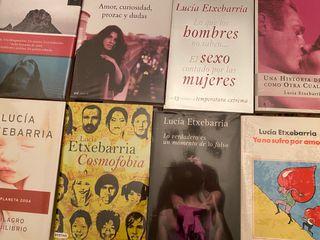 8 Libros Lucía Etxebarría. Perfecto estado.