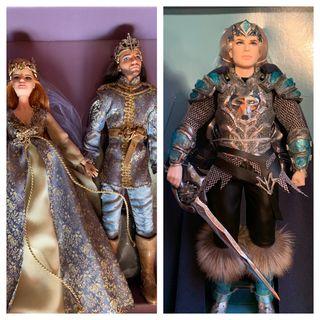 3 Barbie Faraway Forest. Nuevos. Collector.