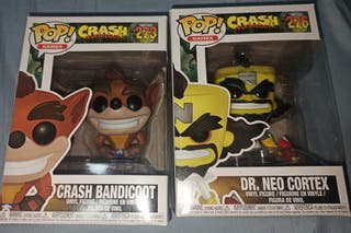 PACK Funko - Crash Bandicoot + Cortex