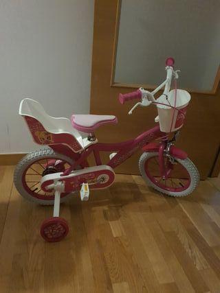 "bicicleta niña pinypon 14"""